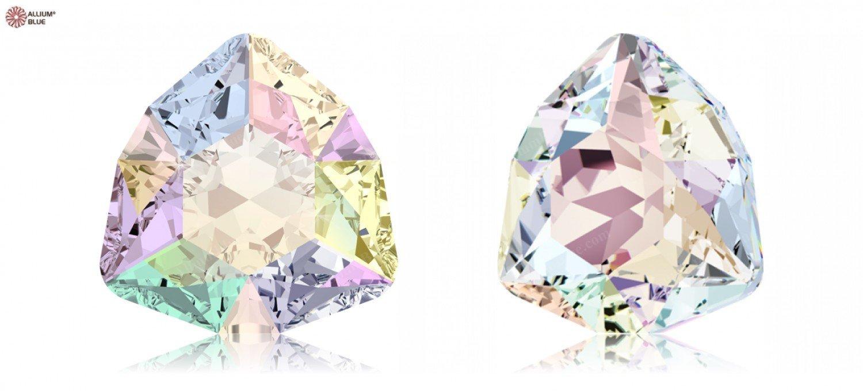 12.00 mm Swarovski Crystals 5020030 Fancy Stones 4706 MM 17,0 CRYSTAL AB F, 48 Pieces