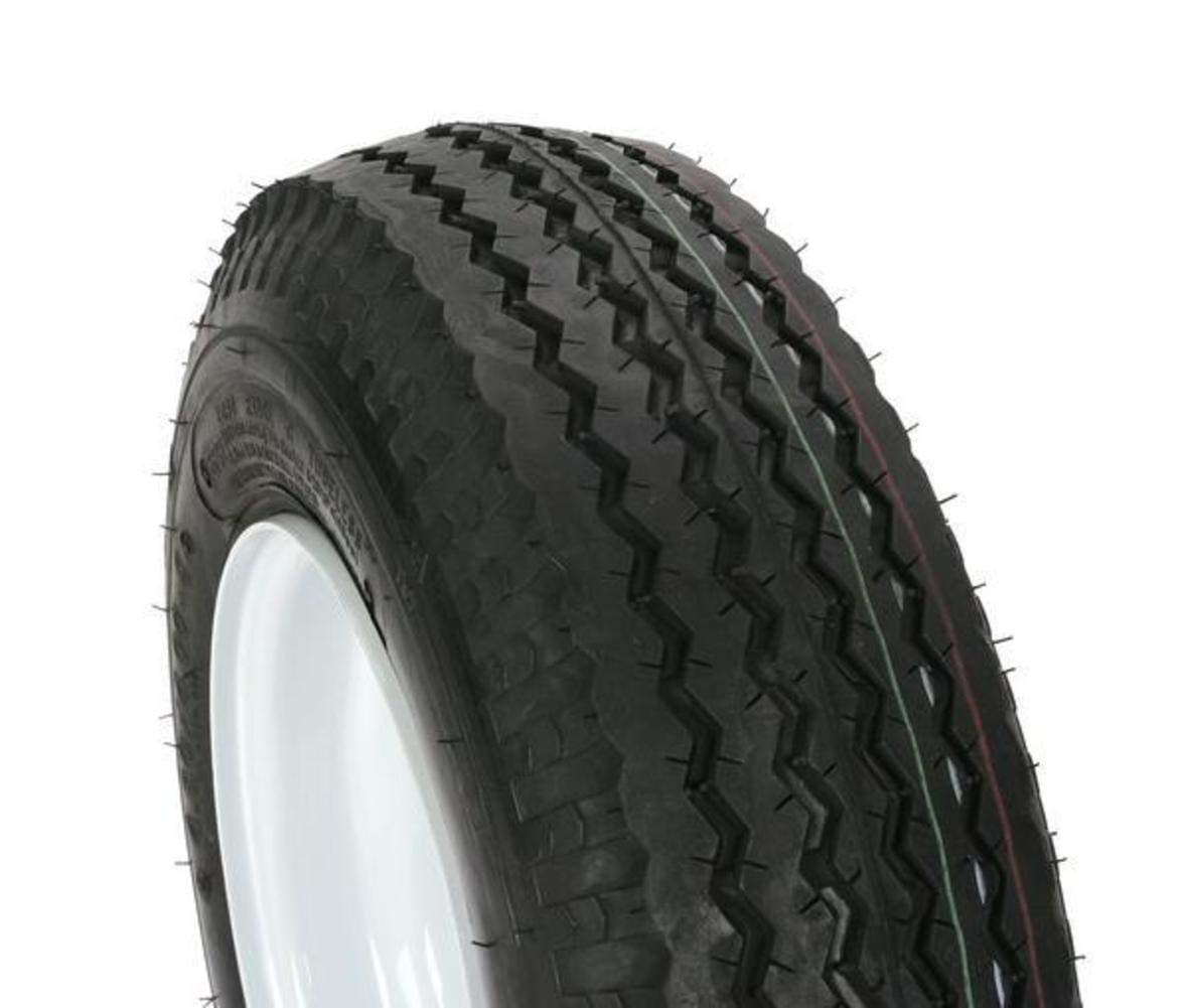 loadstar by kenda trailer tire wheel assembly 6 ply rated load range c 4 80 4 00 8 4 hole rim 30040 Tent Trailer Tires