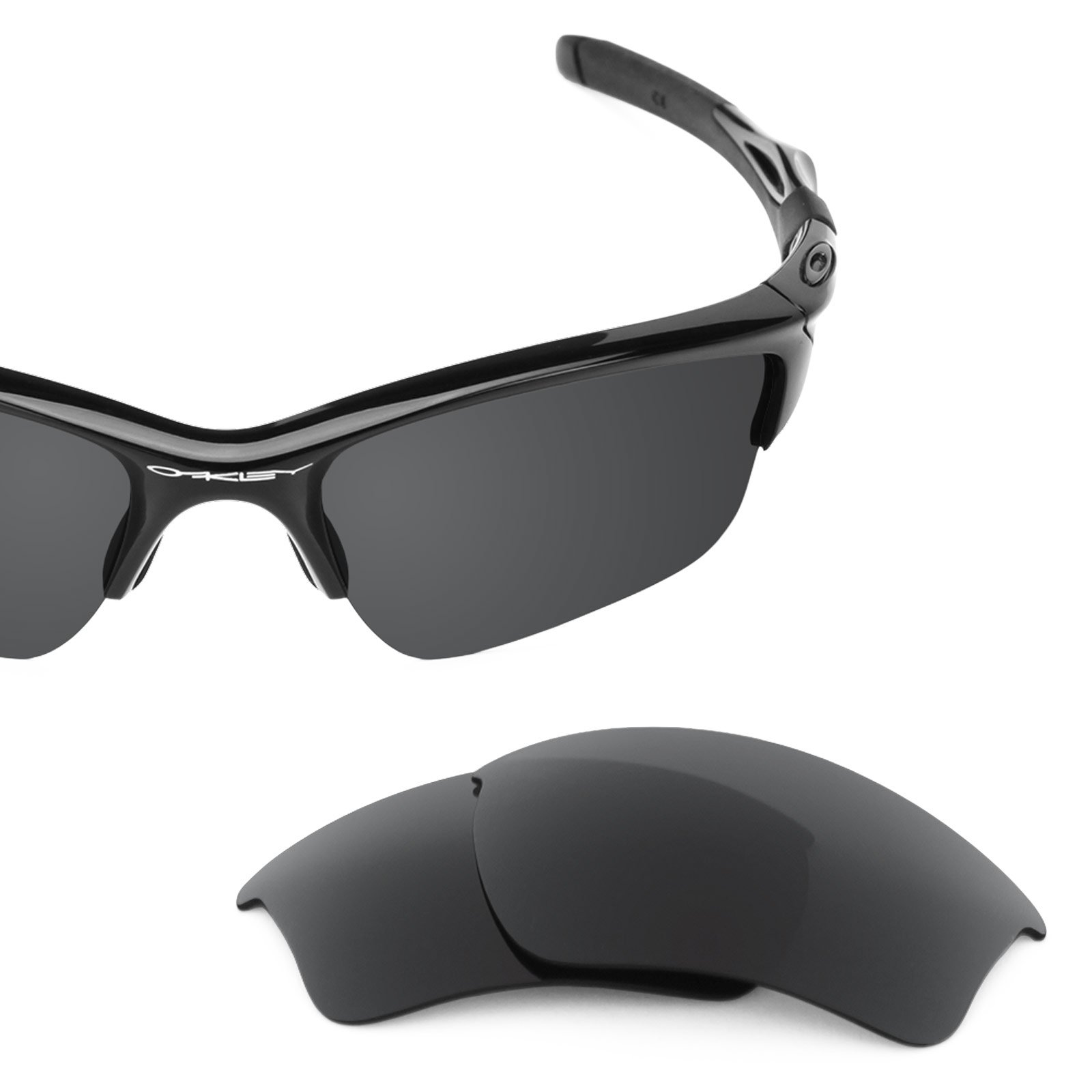 Revant Replacement Lenses for Oakley Half Jacket 2.0 XL Stealth Black by Revant