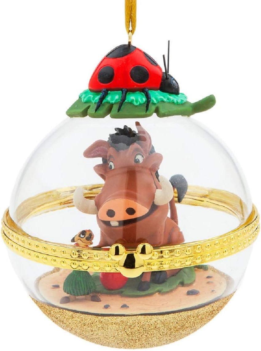 """The Lion King /""""Timon /& Pumbaa/"""" Christmas Ornament Set"""