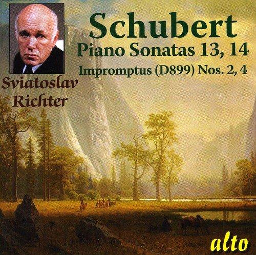 Schubert: Piano Sonatas Nos. 13 & 14,D.664,784 / Impromptus Nos. 2 & 4,D.899