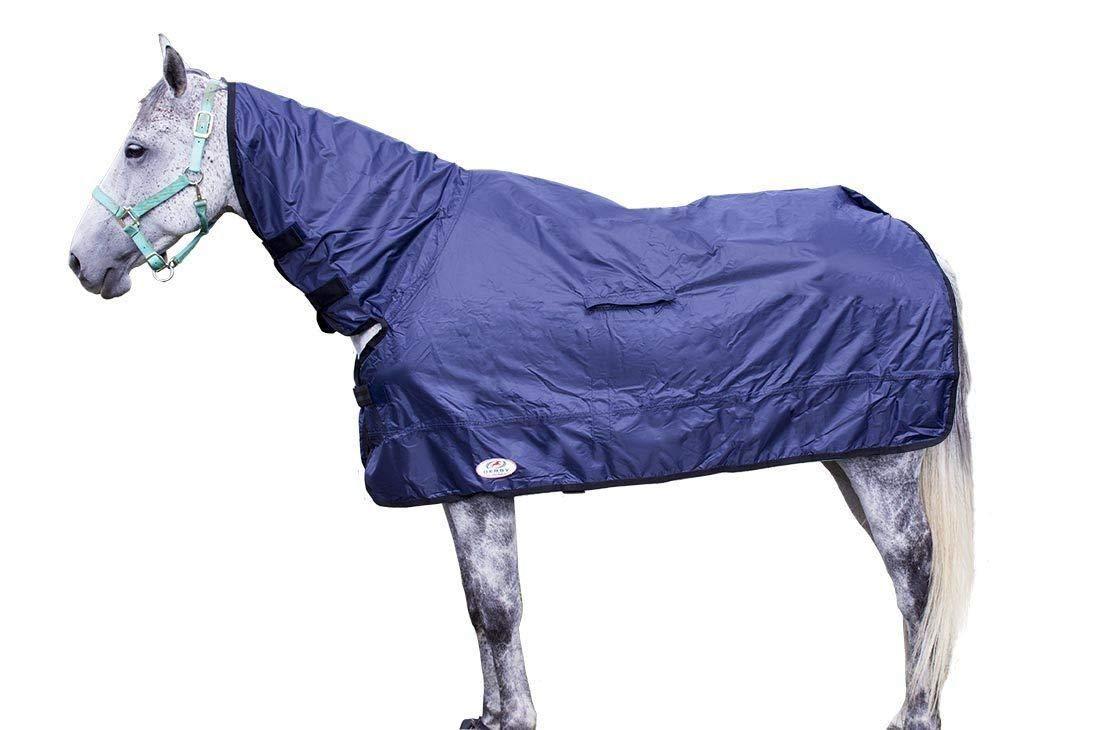Derby Originals Breathable Horse Show Rain Cover Sheet (S (60''-63''), Navy)