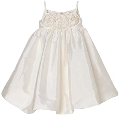 Amazon.com: Us Angels Little Girls' Bubble Dress With Floral ...