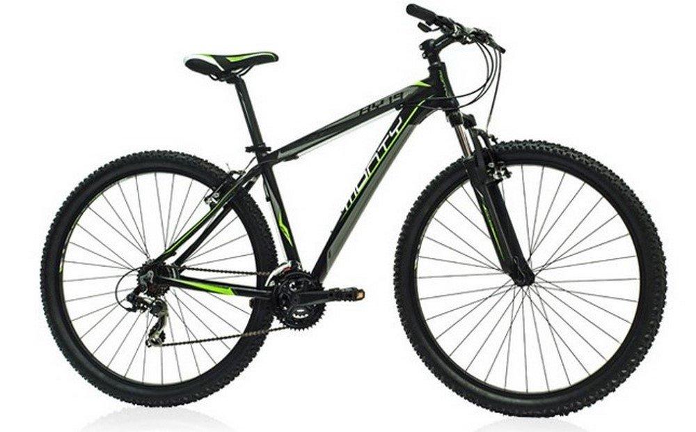 Monty KY19 - Bicicleta montaña unisex de 21 velocidades, cuadro de aluminio talla 19