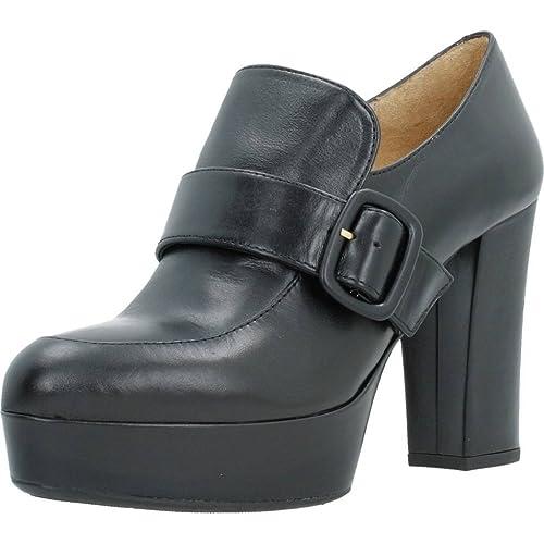 Mocasines para Mujer, Color Negro, Marca UNISA, Modelo Mocasines para Mujer UNISA ROMULO NE Negro: Amazon.es: Zapatos y complementos