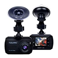 TOGUARD Mini Dash Cam Full HD 1080P Car Blackbox Car Dash Cams DVR Dashboard Camera Built In G-Sensor Motion Detection Loop Recorder, SD Card is NOT Included