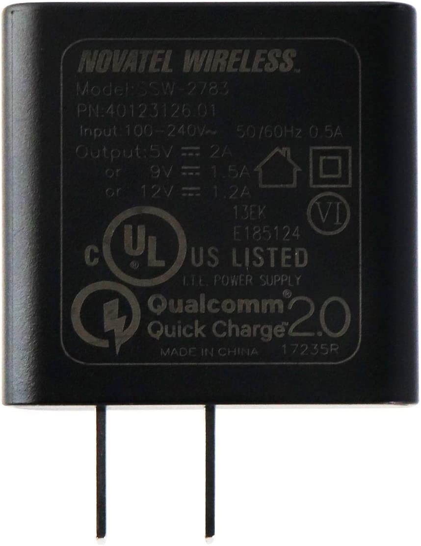 5V//2A Single USB Wall Charger Power Adapter Novatel Quick Charge Type C Wall Charger