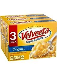 Velveeta Shells and Cheese Dinner, Original, 12 oz, 3 count