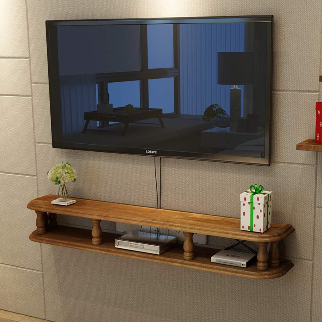 Amazoncom Solid Wood Tv Wall Shelf Wall Mounted Tv Wall Cabinet