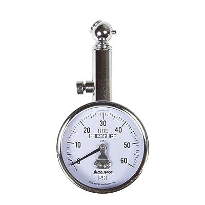 AUTO METER 2343 Autogage Mechanical Tire Pressure Gauge: Automotive