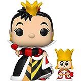 Funko Pop! & Buddy Disney: Alice in Wonderland 70th - Queen of hearts with King 1063 rainha de copas