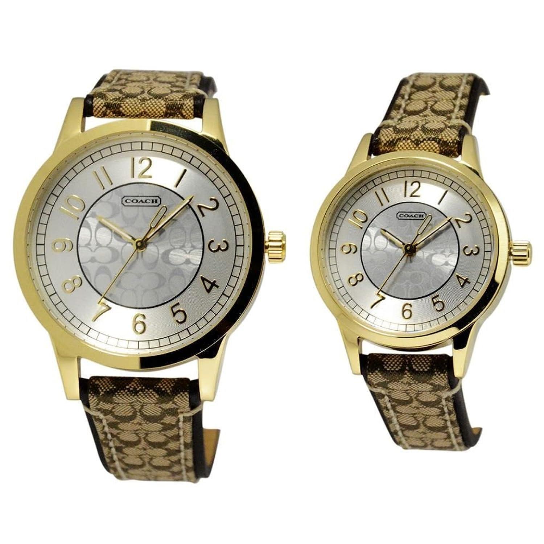 (コーチ) COACH レディース&メンズ ペアウオッチ ペア腕時計 [並行輸入品] B07B62XCP6