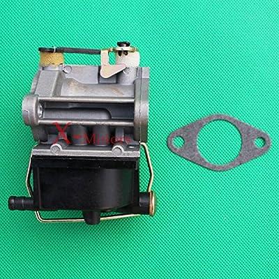 Lisongin Carburetor for Tecumseh OVH110 OVH115 OVH120 OVH125 OVH130 640065A Carburetor -P#EWT43 65234R3FA401840 : Garden & Outdoor
