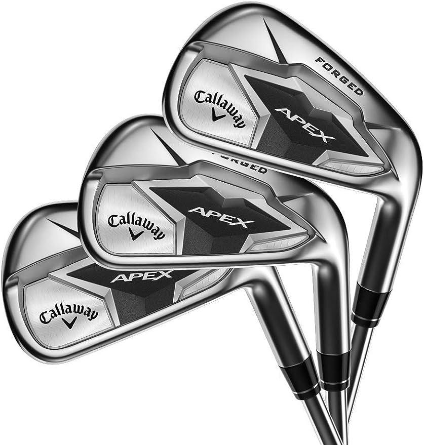 Amazon Com Callaway Golf 2019 Apex Irons Set Left Hand Graphite Regular 4 9 Iron Pw Sports Outdoors