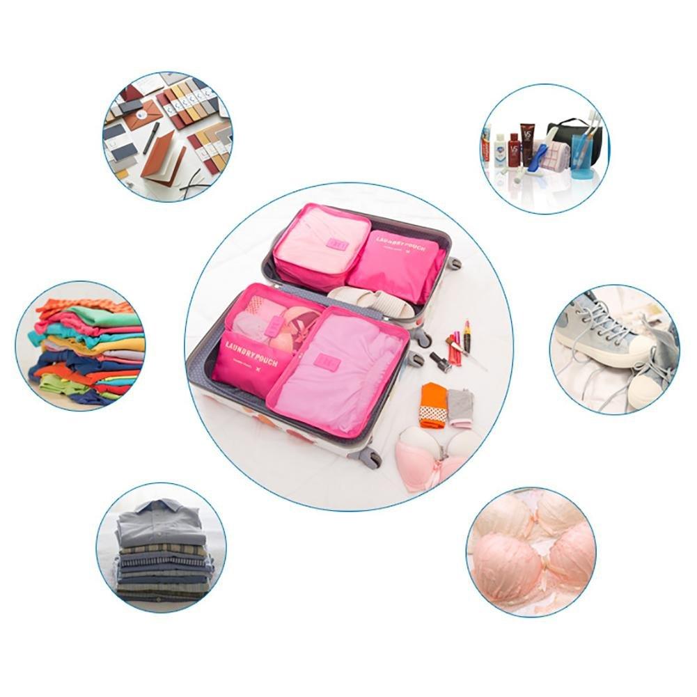 Somedays 6/pezzi per set biancheria intima impermeabile Storage Bag