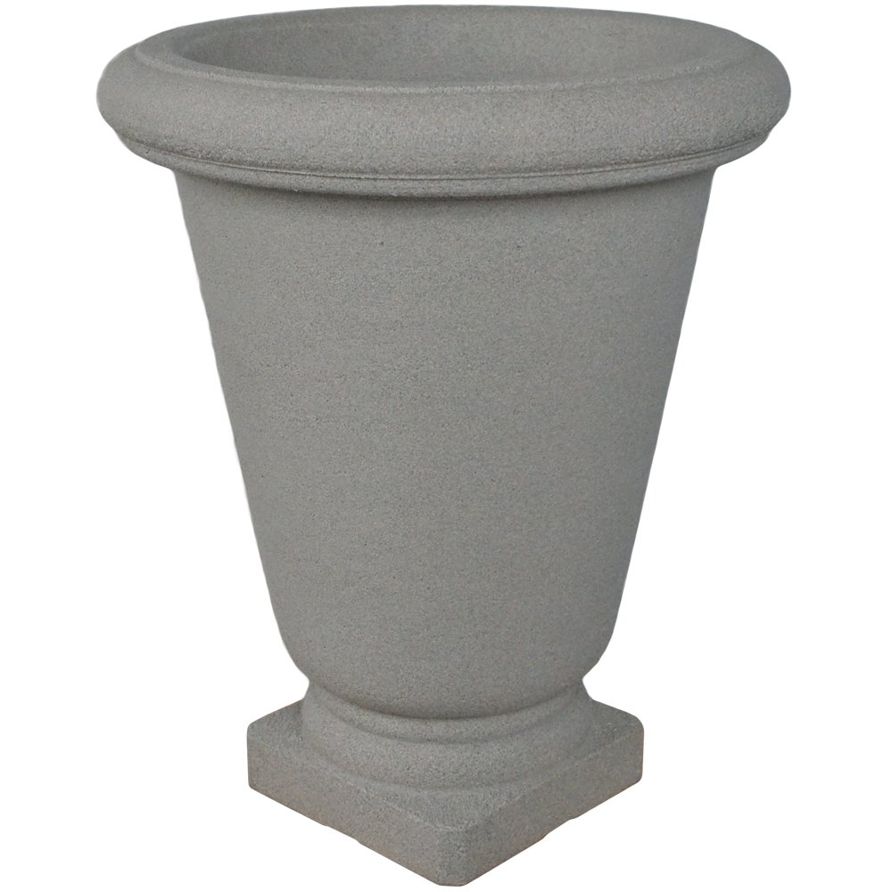 Japi Poly Resin Bell Urn Planter - Stone-22''w x 26''h by Japi