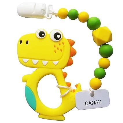 Amazon.com: Canay - Mordedor con clip para chupete, para ...