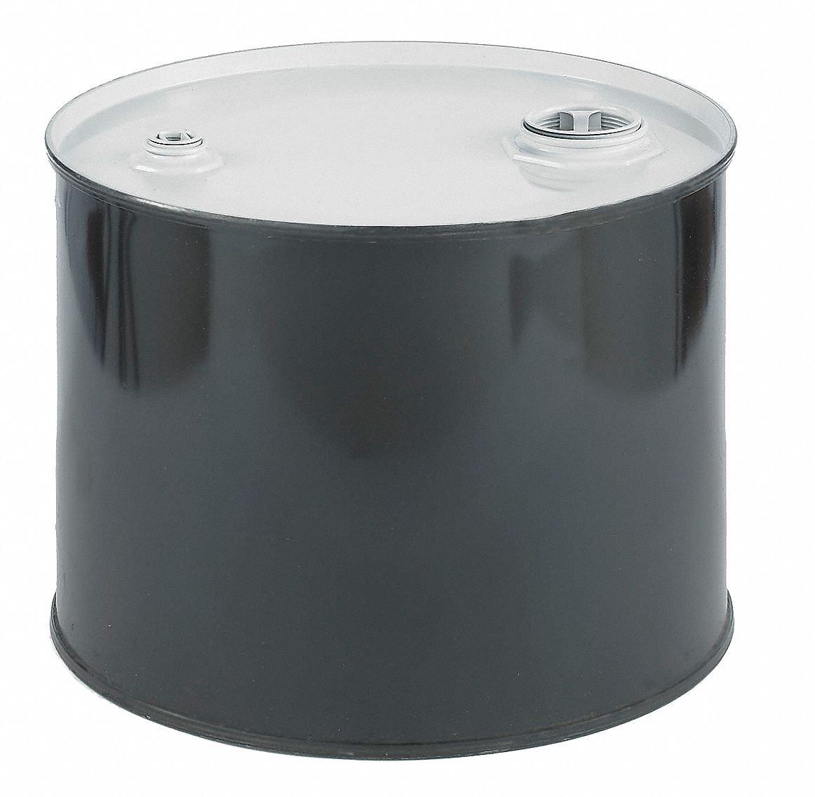 SKOLNIK Carbon Steel Tight Head Drum, 5 gallons, 0.9mm Body Gauge (Pack of 1) by Skolnik