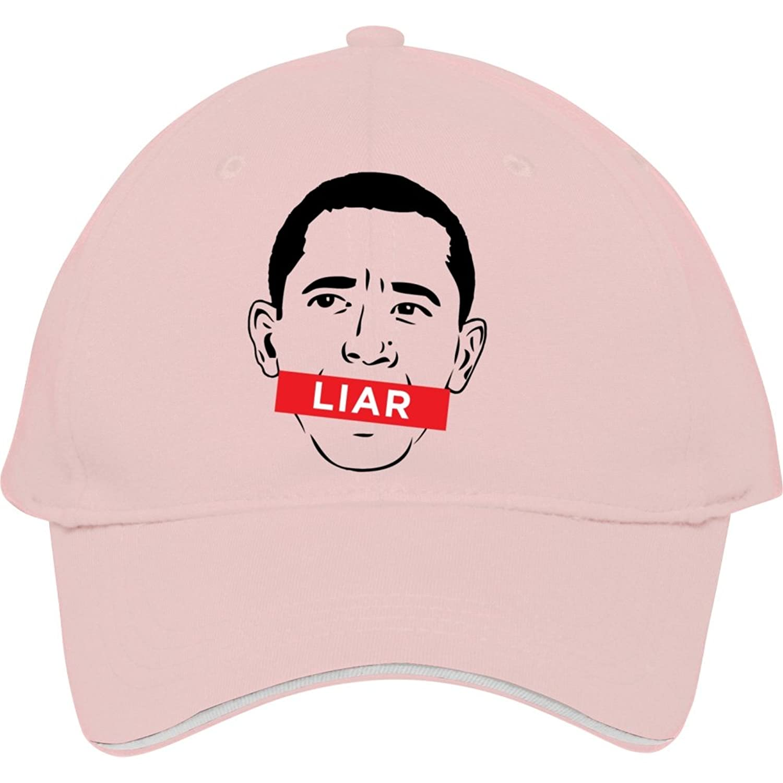 Cool Obama Liar Cotton Snapback Cap Hat Male/female Baseball Cap Kelvigibbs