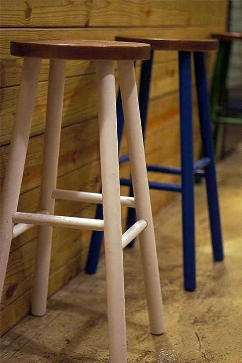 Sedie In Legno Da Colorare.Sed Sedia Sgabello Alto In Legno Da Pranzo Sgabello Da Bar