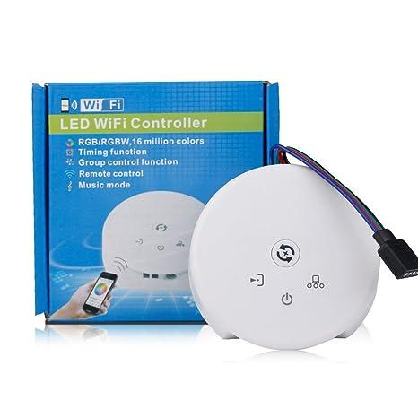 Amazon com: KORJO Smart WiFi Controller for RGB RGBW LED