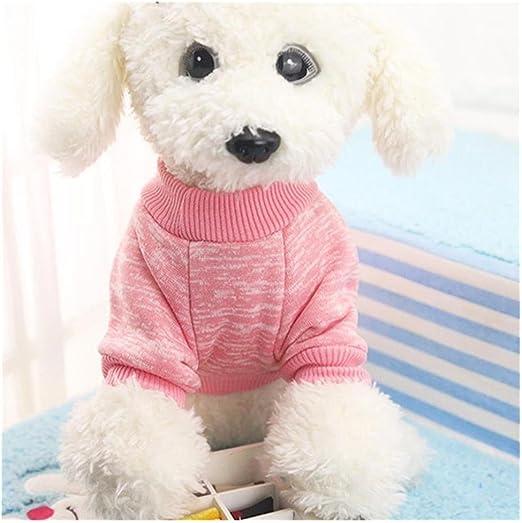 Jersey para perros o gatos Transer®, sudadera tipo chaleco para mascotas, jersey clásico de forro polar para cachorros, suministro para mascotas para el invierno: Amazon.es: Productos para mascotas