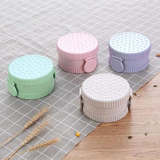 Caja de almuerzo para niños Forma de galleta sin BPA Caja Bento ...