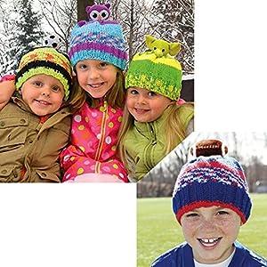 DMC Top This! Hat Knit Yarn Kit