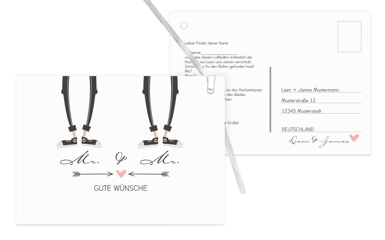 Ballonkarte Pärchen - Männer, 90 Karten, Weiß B07CQJ9DY1 | Sehr gelobt und vom Publikum der Verbraucher geschätzt  | Feinbearbeitung  | Moderne Muster