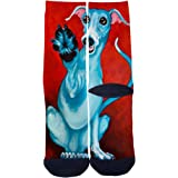 Mens Womens Casual Cute panda boxer Socks Crazy Custom Socks Creative Personality Crew Socks