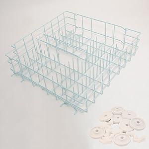 5304438434 Dishwasher Dishrack, Lower Genuine Original Equipment Manufacturer (OEM) Part