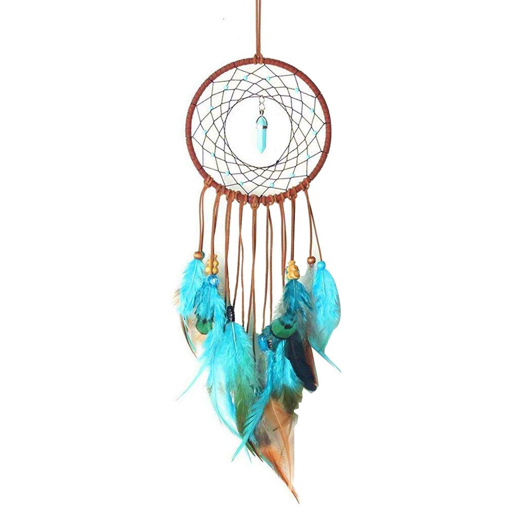 YOcheerful Handmade Dream Catcher Feathers Decoration for Car Wall Hanging Room Dream Catcher