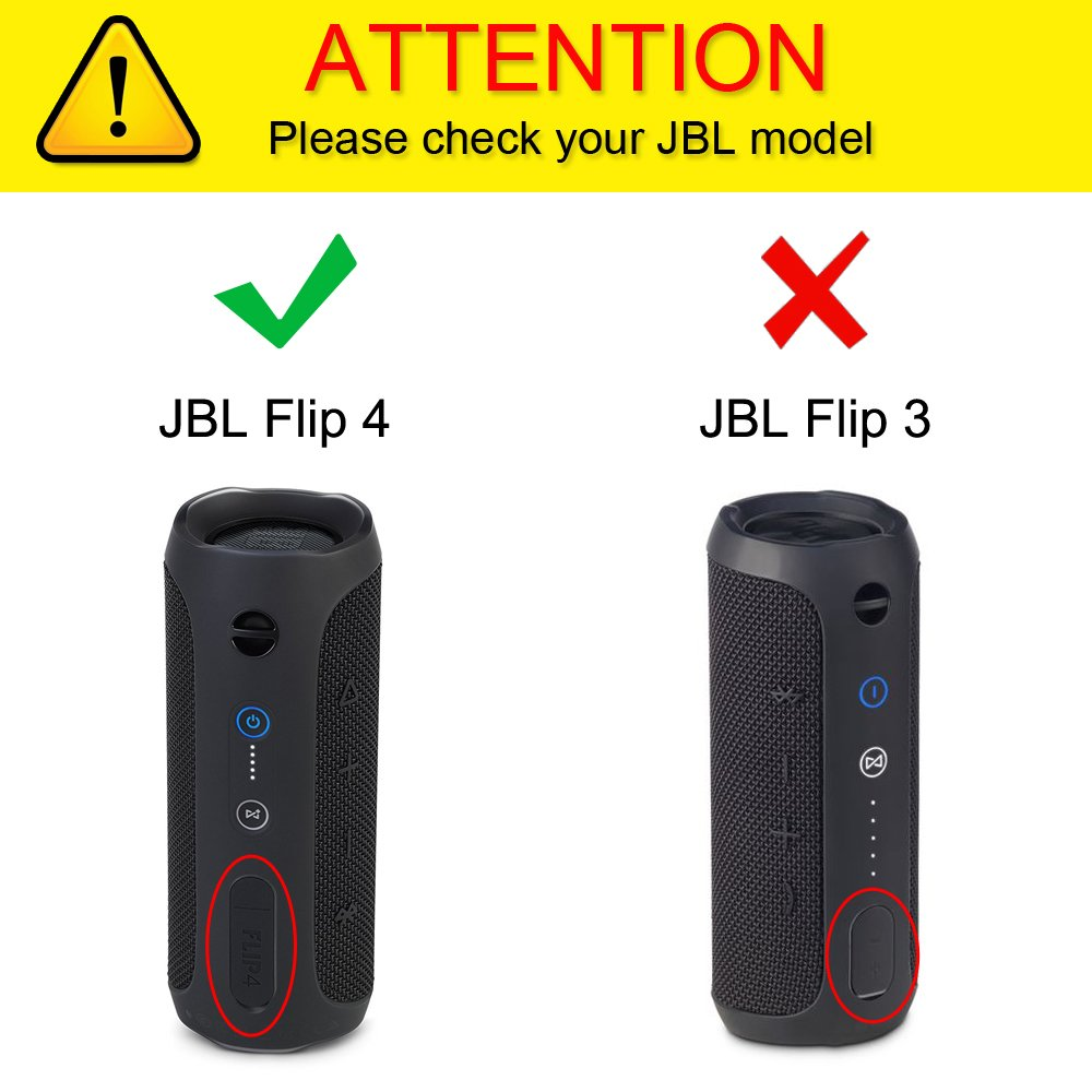 JBL Flip 4 Bluetooth Speaker Case Carrying Sleeve ...