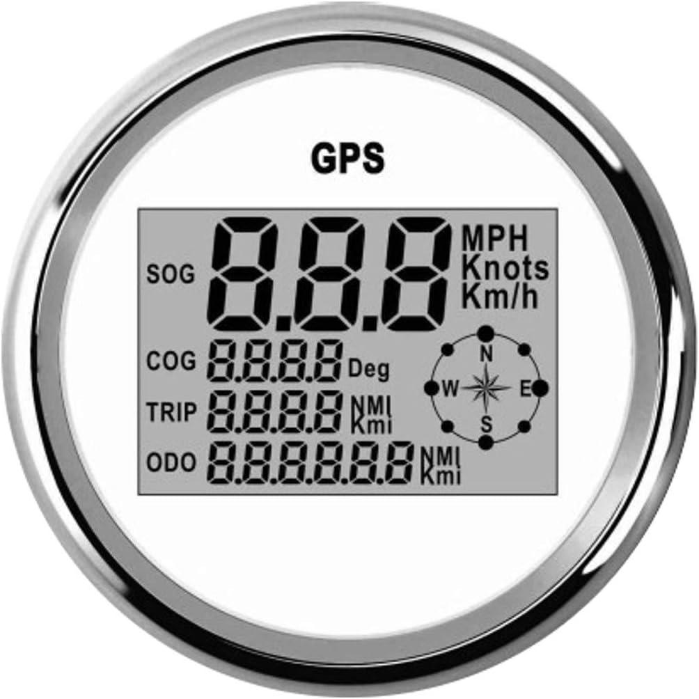 MOMOALA 85Mm Impermeable GPS De Velocímetro Digital Medidor ...