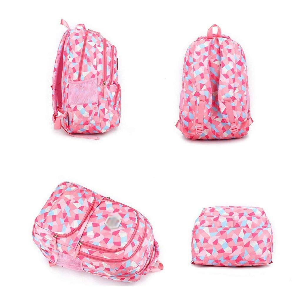 Amazon.com: Backpack - Waterproof School Backpack Girl Middle School Bag Cute Bag Backpack Female Diamond [Five Colors Optional] (Color : E, ...