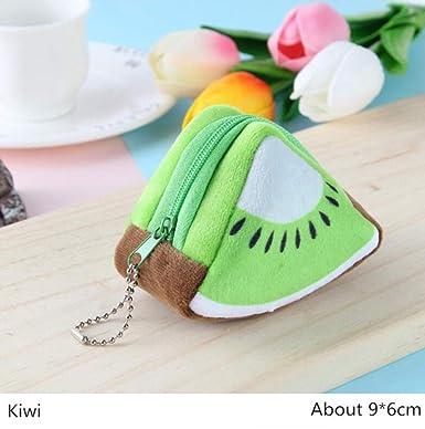 DAXINYANG Kawaii Fruta Naranja Kiwi Suave Felpa Mini ...