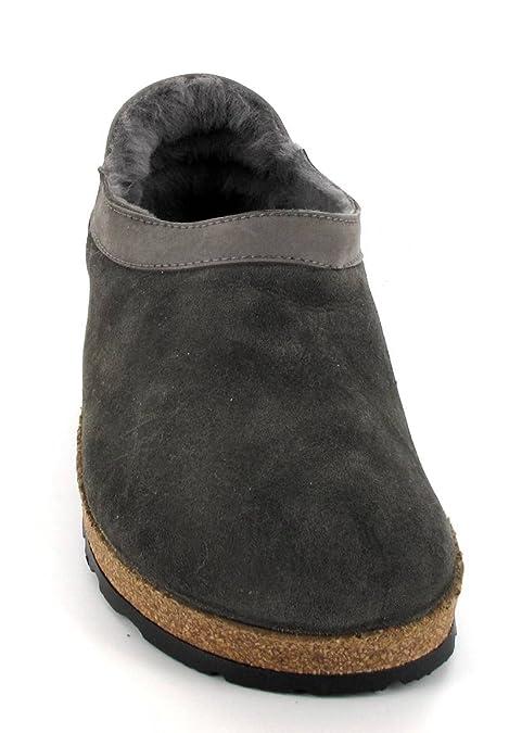 50551ade4ba192 Haflinger Siberia Lammfell-Hausschuhe Unisex-Erwachsene Schaffell-Clog