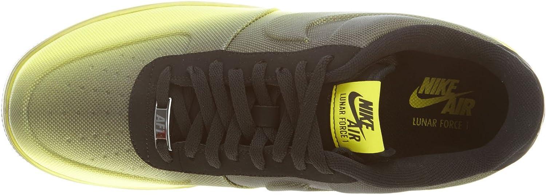 Nike Lunar Force 1 VT Mesh Mens Sneakers Sonico GialloNero