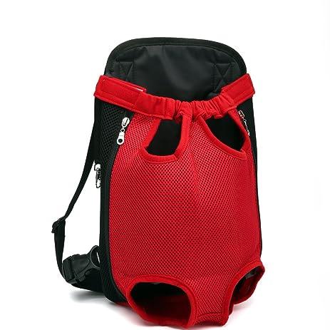 hannier pet dog backpack carrier legs out frontfacing dog carrier handsfree adjustable