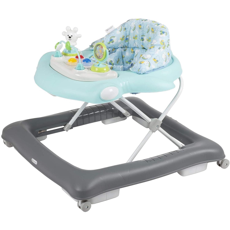 BabyGo Lauflernwagen Gehfrei Free Walk Mintblue//blau 150-14