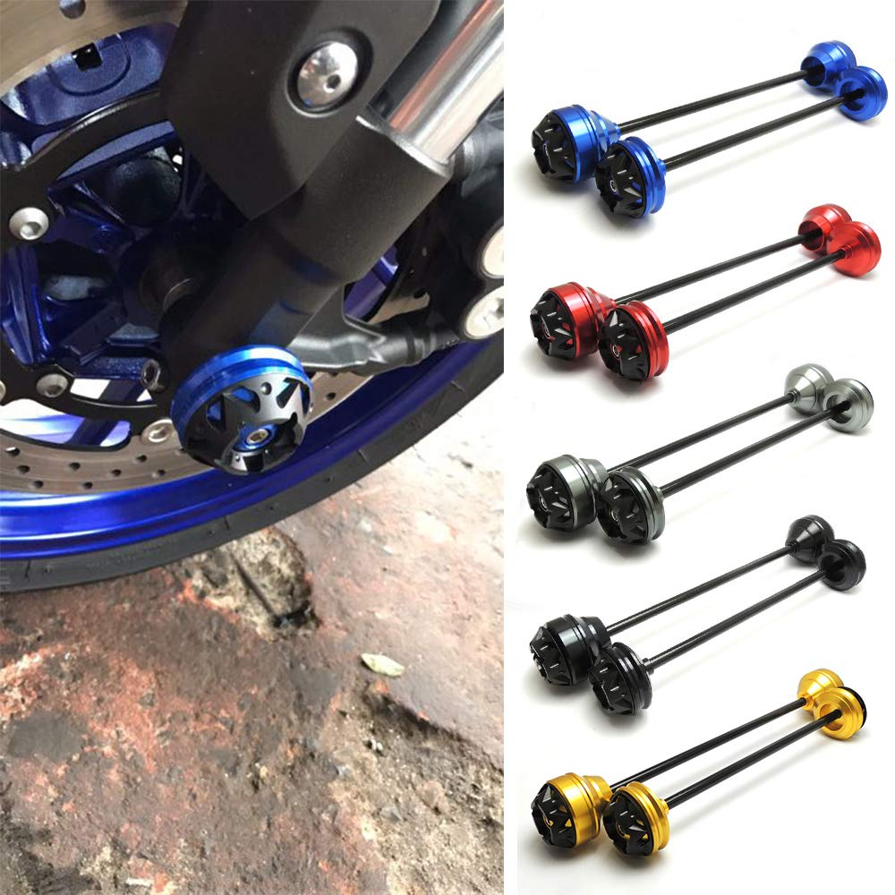 accessories Ocamo motorcycles spare parts for Yamaha MT-09 FZ09 MT09 Crash Mushrooms Sliders protectors on the front axle.