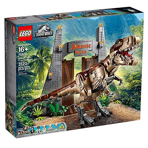 LEGO Jurassic Park: T. Rex Rampage 75936 (3120 Pieces)