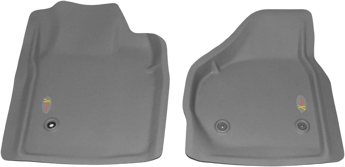 Set of 2 Lund 499902 Catch-All Xtreme Gray Front Floor Mat