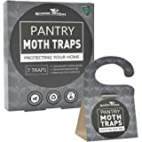 Greener Mindset Pantry Moth Traps 7-Pack with Premium Pheromone Attractant - Effectively Trap Pantry Moths