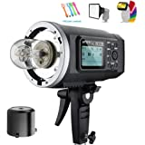 Godox AD600B TTL 600Ws GN87 High Speed Sync Outdoor studio Flash Strobe Light,Build-in 2.4G Wireless X System,8700mAh Battery to Provide 500 Full Power Flashes Recycle in 0.01-2.5s(Bowens Mount)
