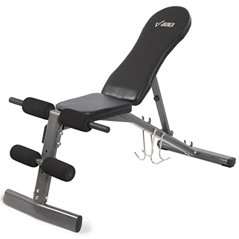 akonza ajustable banco de musculación pesas levantamiento regulable soporte de prensa ABS equipo de entrenamiento