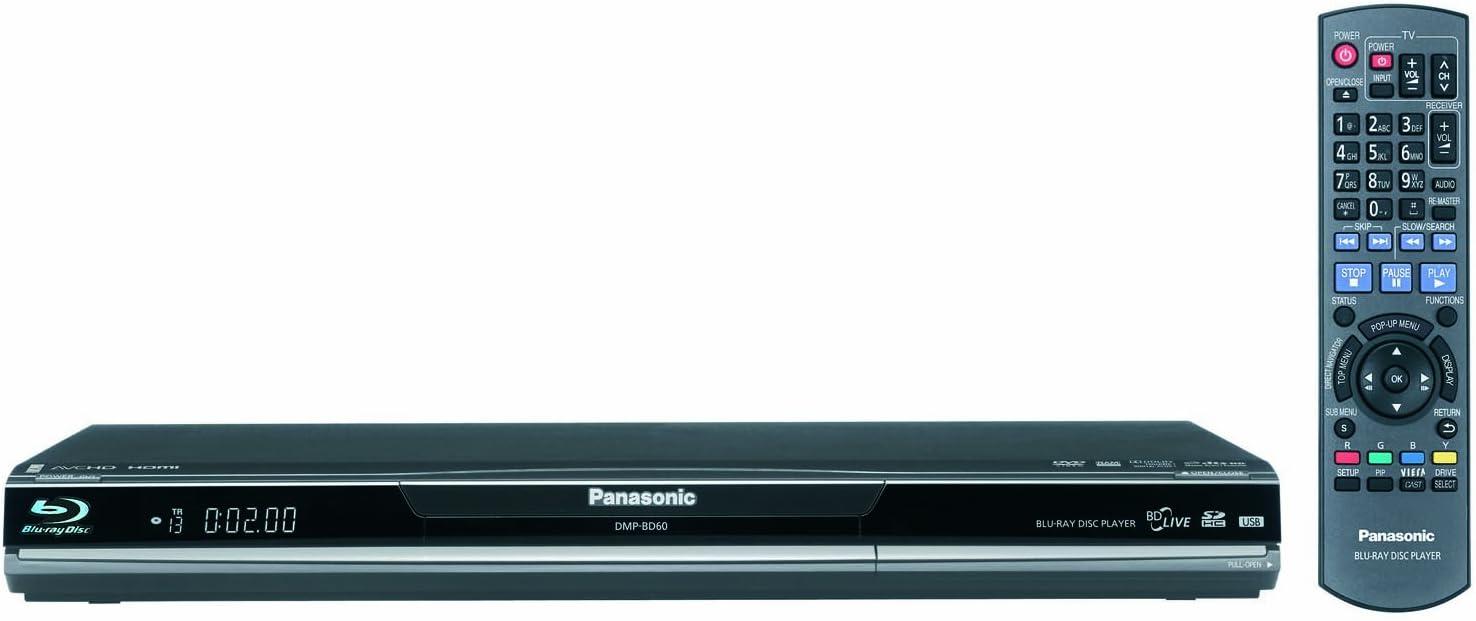 Panasonic DMP-BD60 Blu-ray Disc Player (Black)