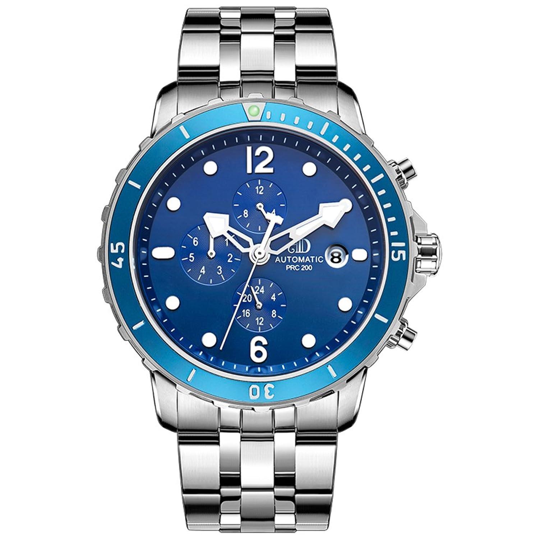 Automatische mechanische Uhren-MÄnner große Zifferblatt-Multi-Funktions-Sportuhr-B