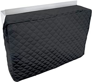 Sturdy Covers Indoor AC Cover Defender - Insulated Indoor Air Conditioner Unit Cover (Black, 17 x 25 x 4)