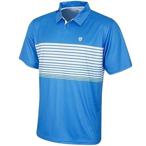 Island Green IGTS1774 - Polo para Hombre, Talla L, Color Azul y ...